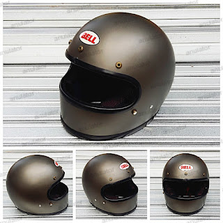 Helm Replika Mini Bellstar/Blauer