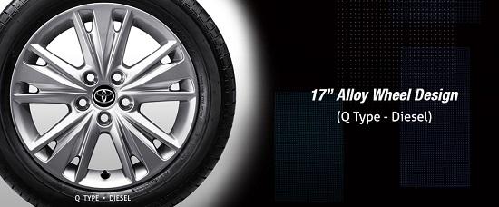 """17"""" Alloy Wheel Design (Q Type Diesel)"""