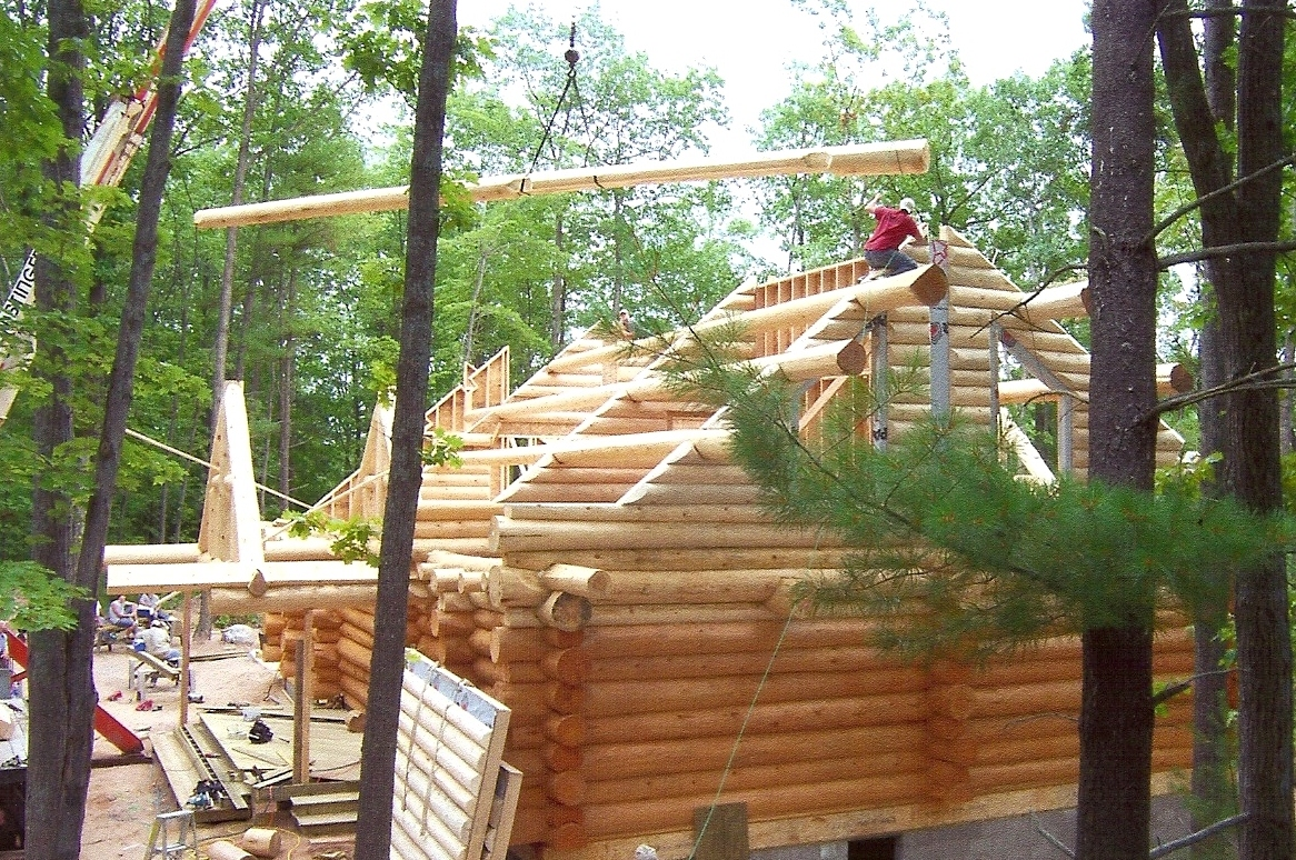 Edge Of Escape Building A Log Home Chapter 18 Wiring Some Have Channels As Well So That Could Be Run For Fans And Lights