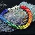 Rainbow Colored Kumihimo Jewelry Tutorials to Inspire!