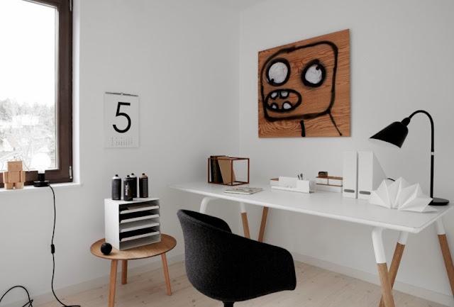 silla de despacho de franela