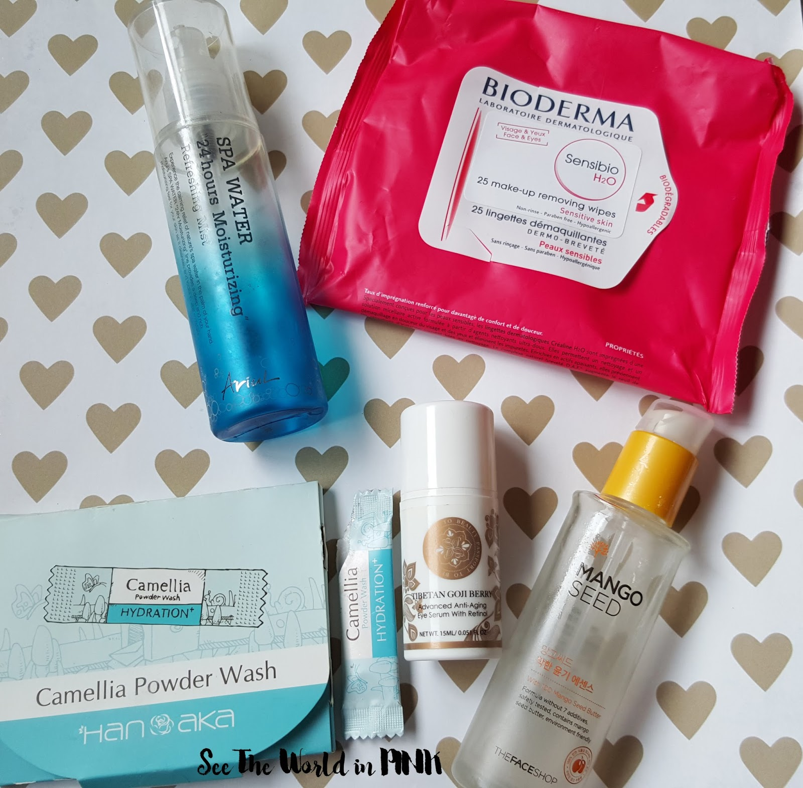 January 2016 Empties!