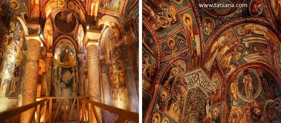Nevşehir Karanlık Kilise