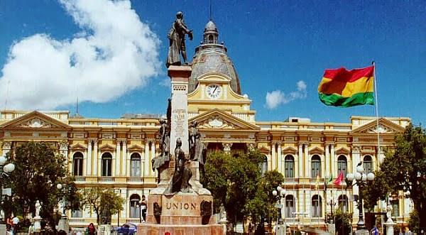 De turismo por La Paz en Bolivia
