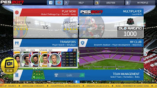 Download DLS Mod PES 2017 by Ismail Apk + Data