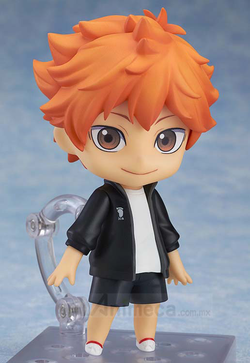 Figura Shoyo Hinata Karasuno High School Volleyball Club's Jersey Ver. Nendoroid Edición Limitada Haikyuu!! Orange Rouge