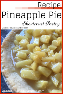 Recipe Pineapple Pie sweet fruit Shortcrust pastry
