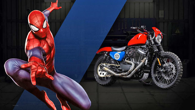spiderman Harley Davidson