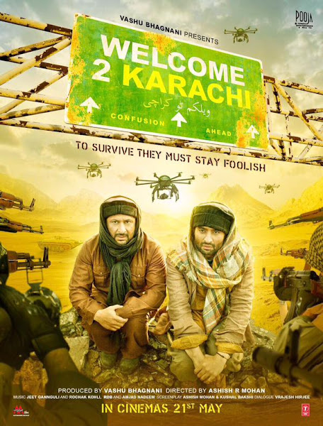 Poster of Welcome 2 Karachi (2015) Full Movie [Hindi-DD5.1] 720p HDRip ESubs Download