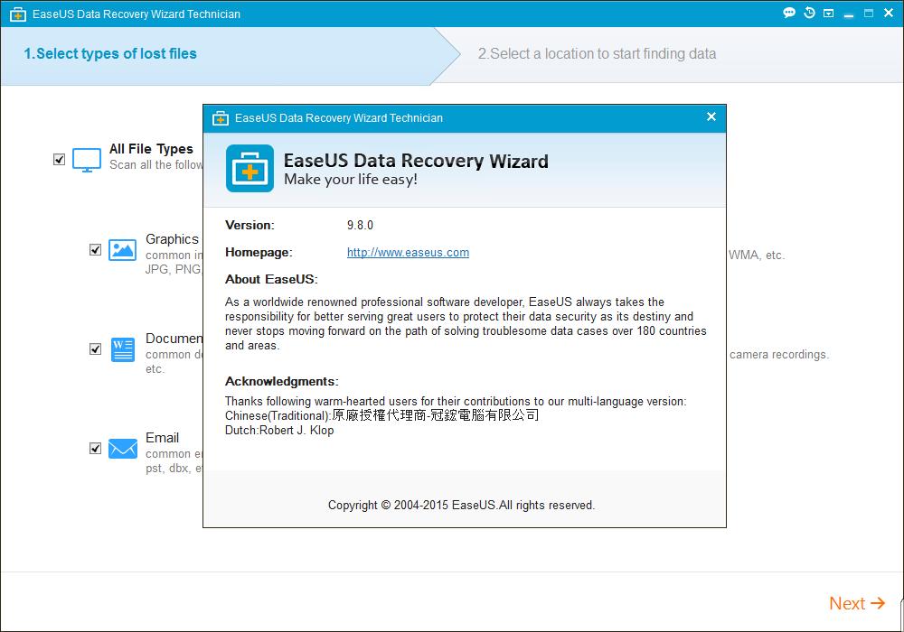 easeus data recovery wizard 7 0 license code