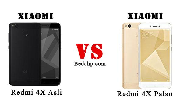 14 Cara Cek Xiaomi Redmi 4X Asli Dan Palsu Replika