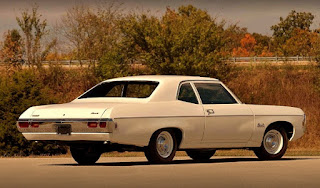 1969 Chevrolet Bel Air Sport Coupe L-72 Rear