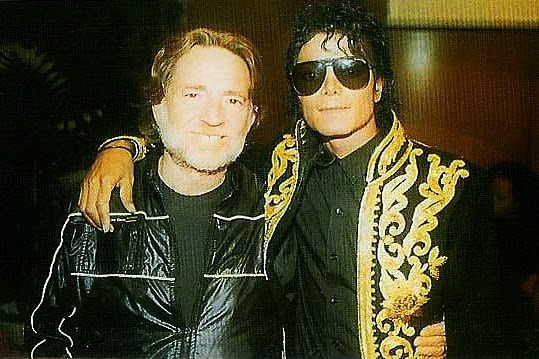 "As gravações de ""We Are the World"": Willie Nelson e Michael Jackson"