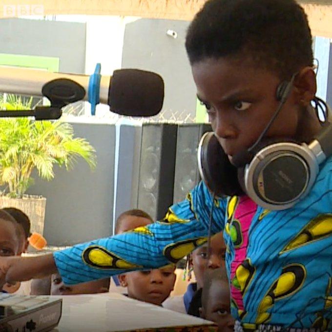 Ghana's youngest Dj, Dj Switch talks to BBC Africa |Watch