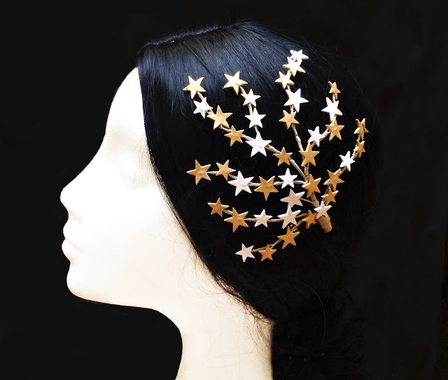 Tocado Novia Estrellas · Bridal Star Headpiece