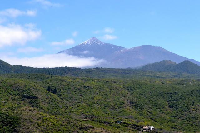 vistas pico Teide Tenerife