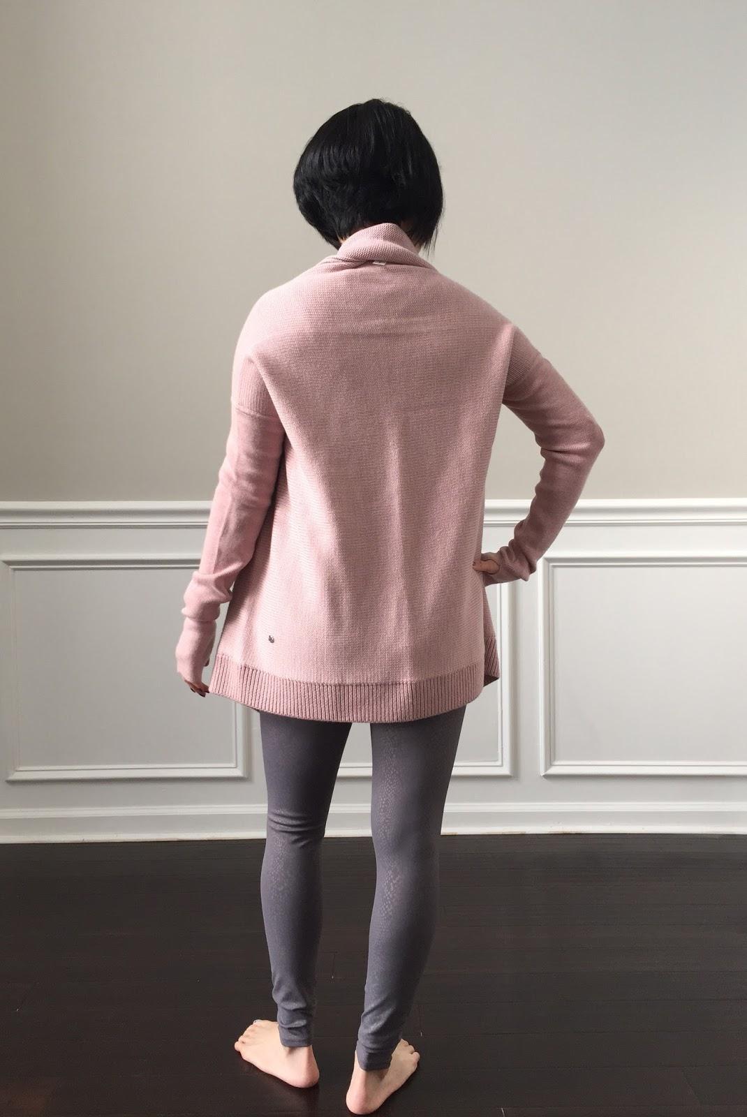 Petite Impact: Fit Review! Lululemon Wrap It Up Sweater ...