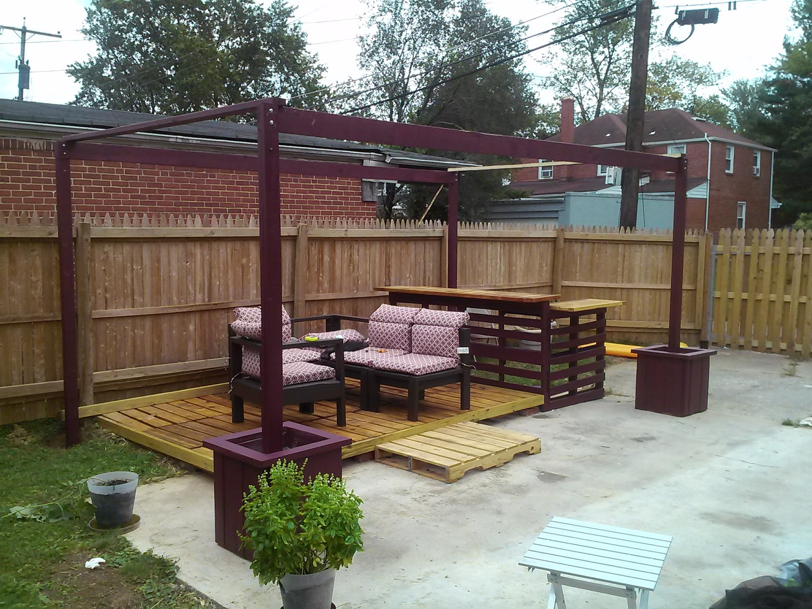 Diy Outdoor Canopy Frame Inspired By Pinterest