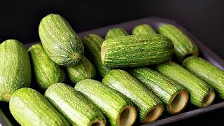 طريقة تفريز الكوسا المقورة مع الحفاظ على لون الكوسا و رائحتها وطعمها