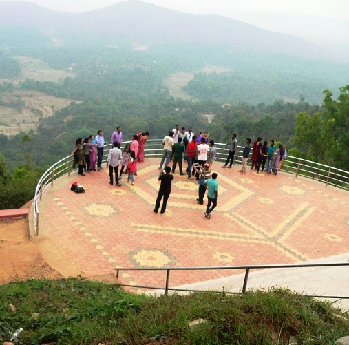 One Familys Blog: Coorg - Thirunelly Temple, Raja's Seat
