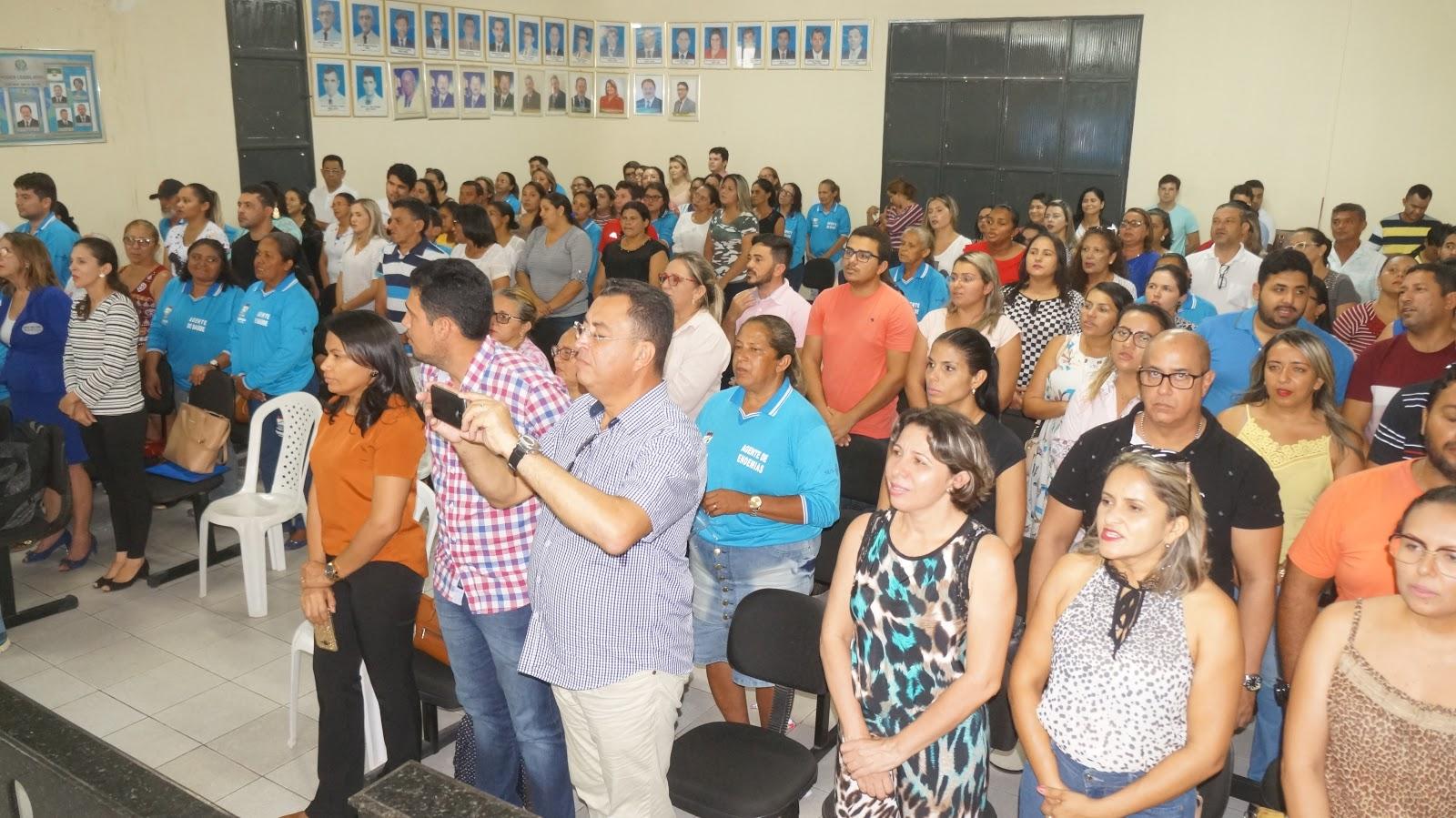 Servidores Da Saúde Participam De Palestra Motivacional