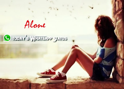100 Feeling Alone Status for Whatsapp in Hindi | Alone Quotes