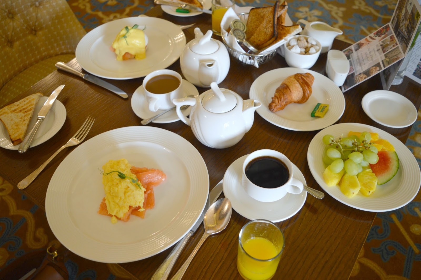 Wynyard Hall Hotel and Spa - Breakfast