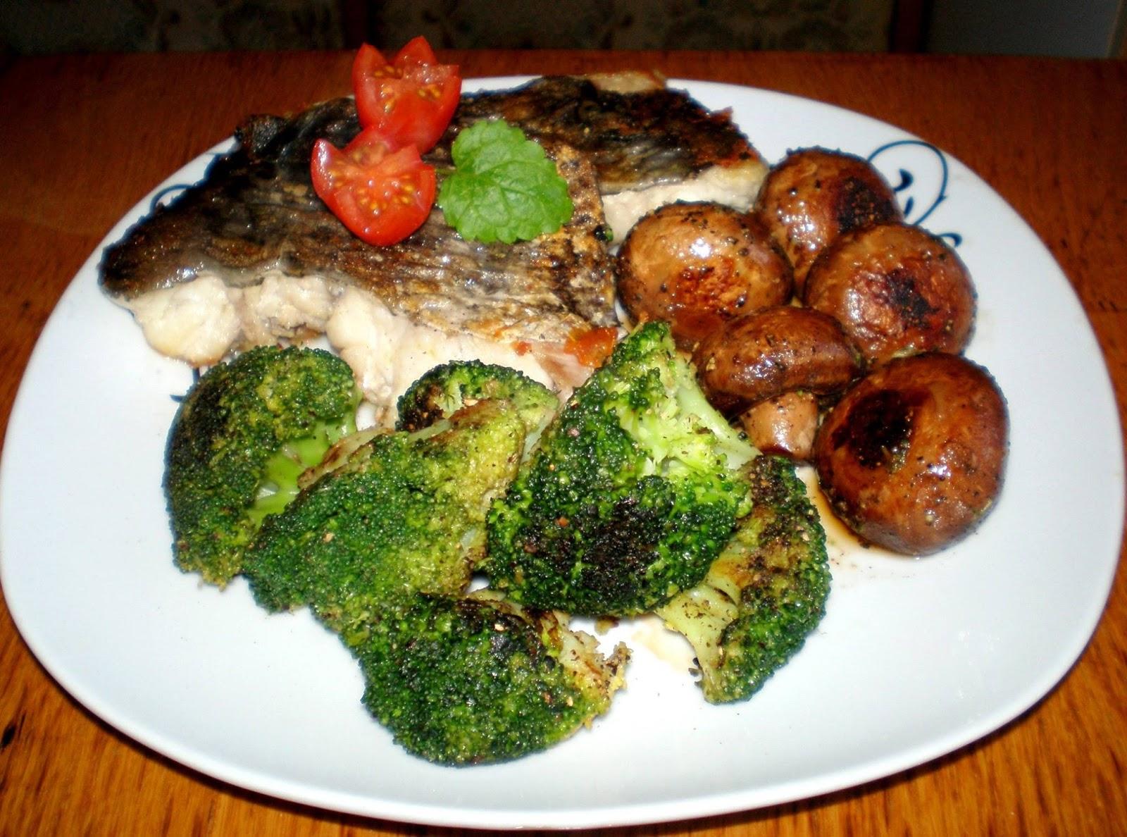 Pește cu brocoli