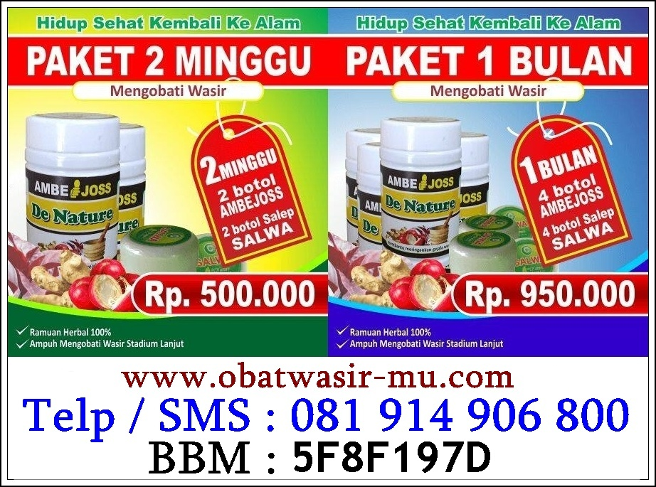 Obat Alternatif Wasir Di Lampung. 082326813507