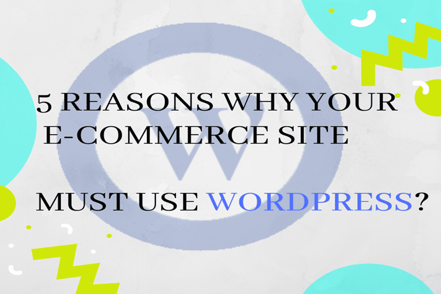 Why E-Commerce Site Must Use WordPress?