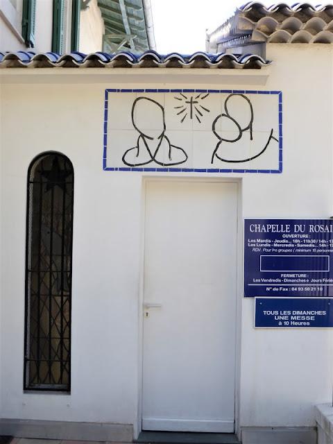 Vence, Capilla del Rosario, Matisse