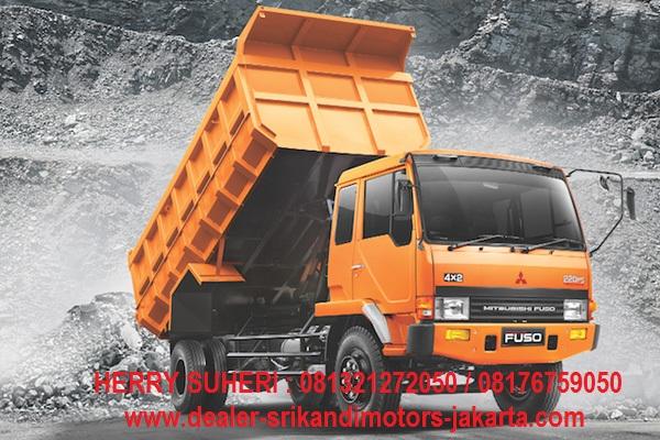 paket kredit dp ringan dump truck fuso 2018
