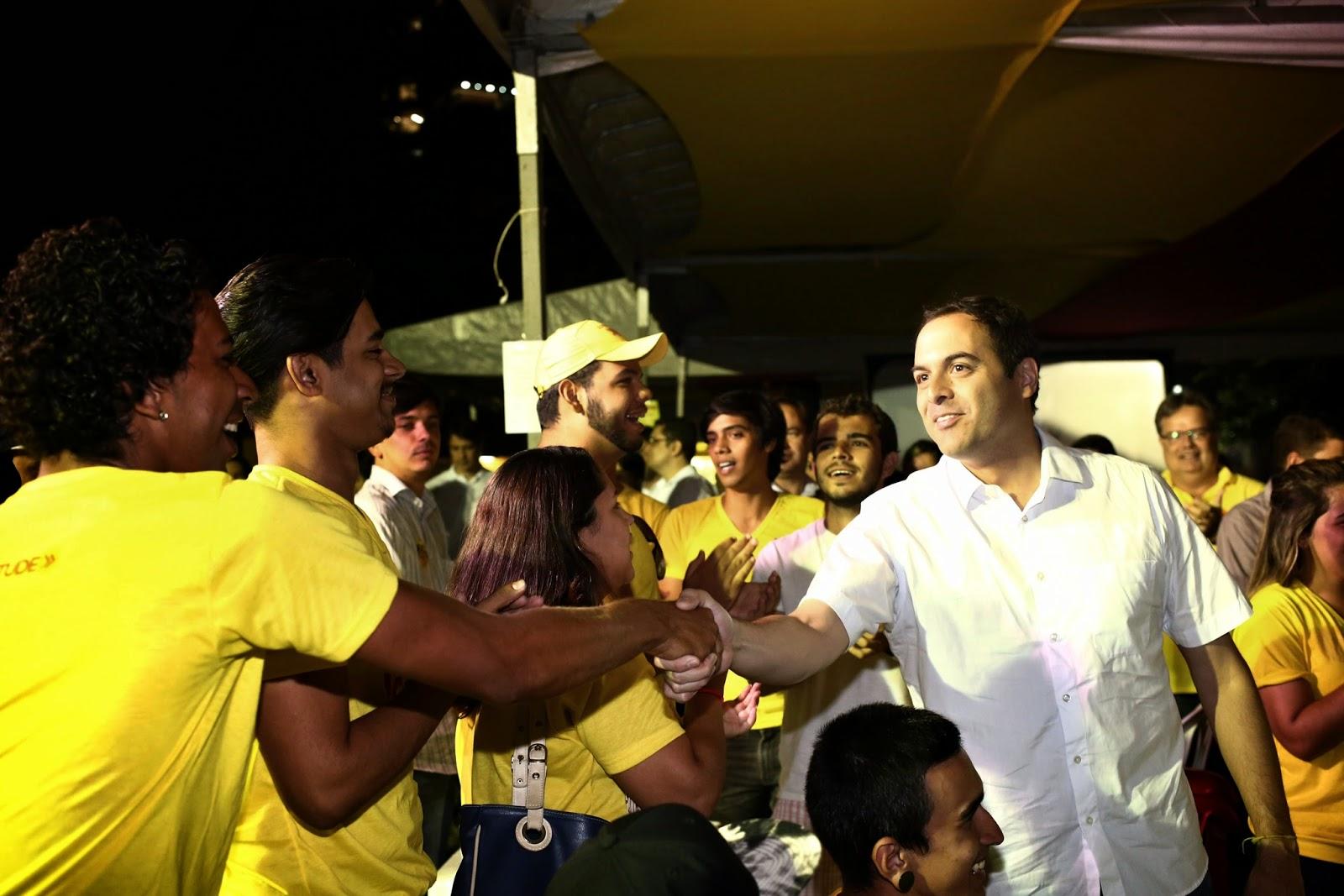"""""""Vou trabalhar com o povo e para o povo"""", diz Paulo"""