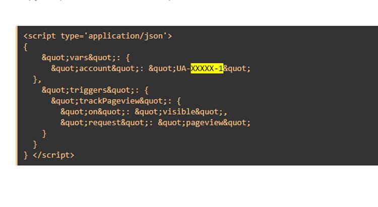 Memasang Script Google Analytics Valid AMP HTML