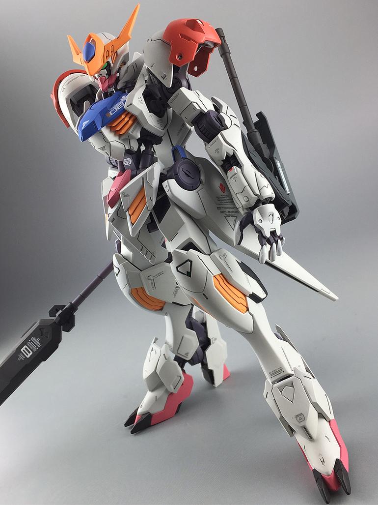 Painted Build: HG 1/144 Gundam Barbatos Lupus