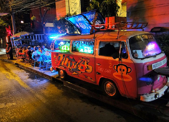 Фольксваген бар в Таиланде