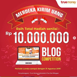Lomba Blog True Money