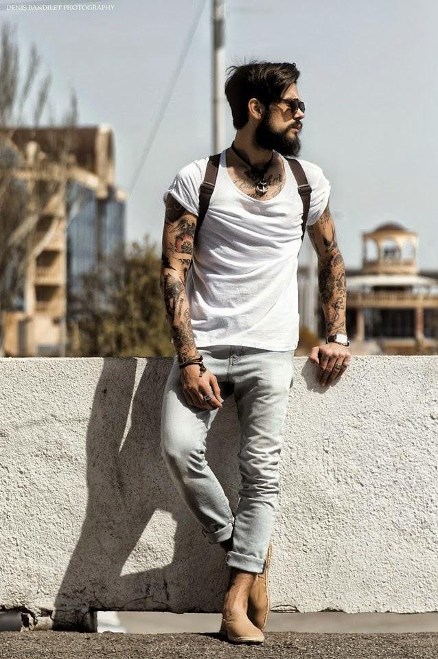 Resultado de imagem para calça pescador masculina