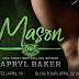 #releaseblitz - Mason  by Author: Apryl Baker  @AprylBaker  @agarcia6510