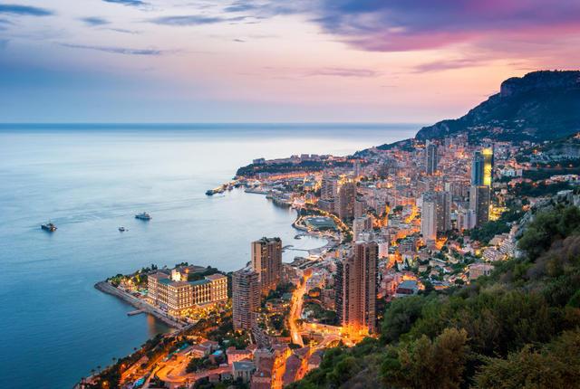 Mônaco na França