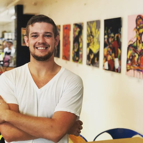 "Meet Modern Figurative Painter ""Jacoby Hinton"" from Charleston, SC"