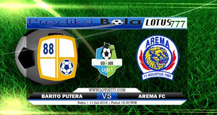 PREDIKSI PS BARITO PUTERA VS AREMA FC 11 JULI 2018