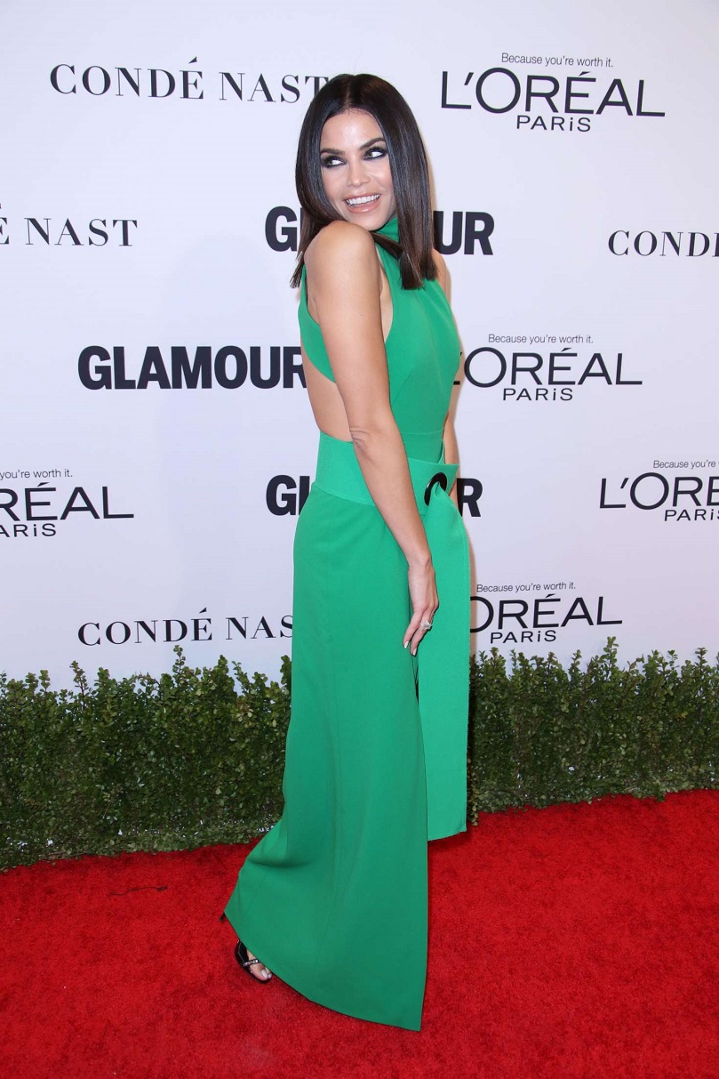 Jenna Dewan flaunts trim physique at the Glamour Women of the Year Awards 2016