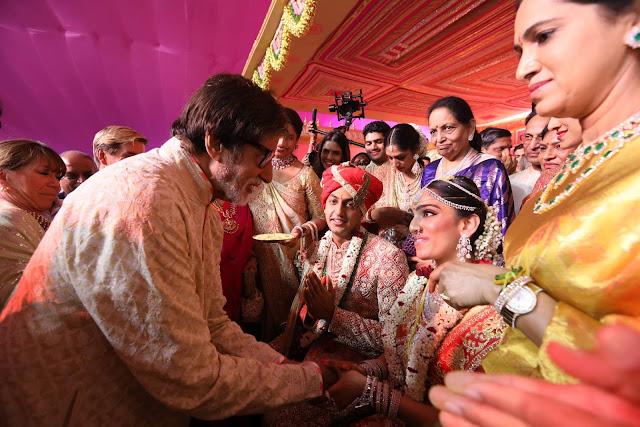 Amitabh bachchan at subbarami reddy grandson wedding