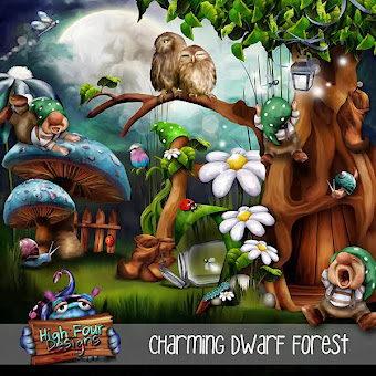 Charming Dwarf Forest