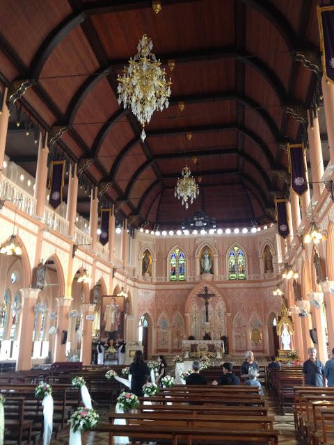 interior of Chanthaburi Cathedral