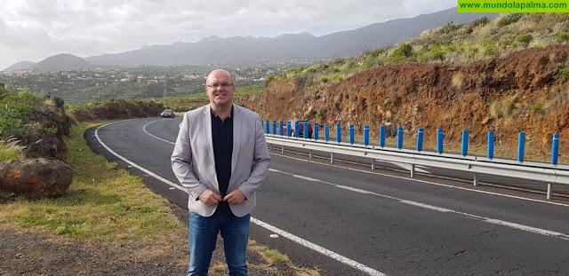 El Cabildo comenzará próximamente las obras de mejora del primer tramo de la carretera de La Cumbre
