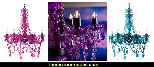 Three Cheers For Girls! 6 Light Crystal Chandeliers