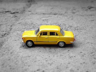 Minature toy taxi