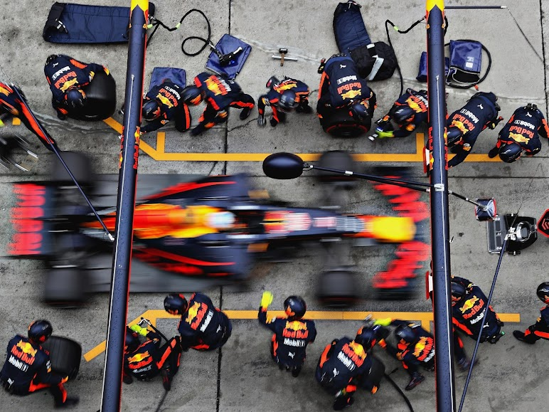 RedBull Chinese GP Pit Stop